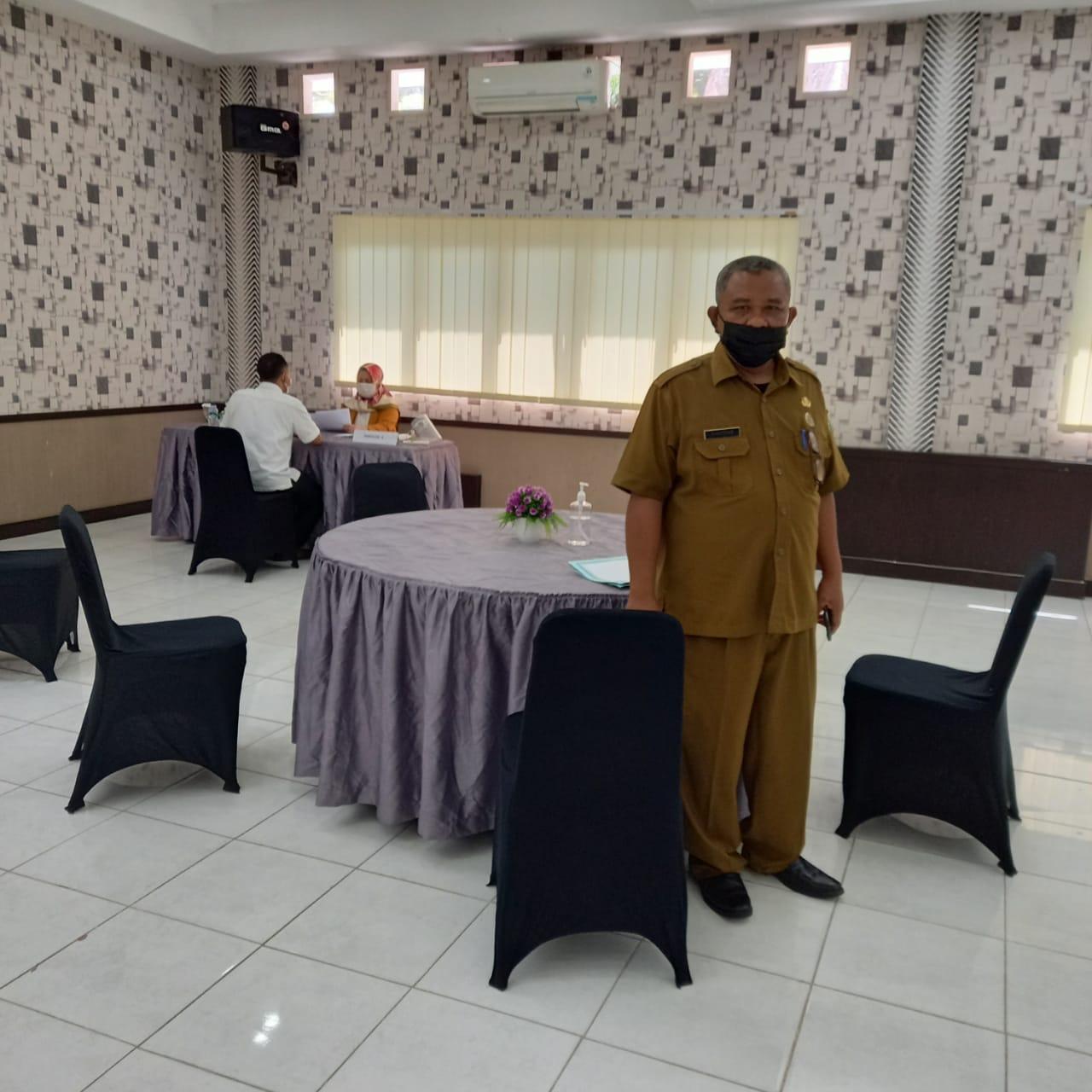 Monitoring Pelaksanaan Psikotes Seleksi Calon Direksi Perumda Kota Medan-2